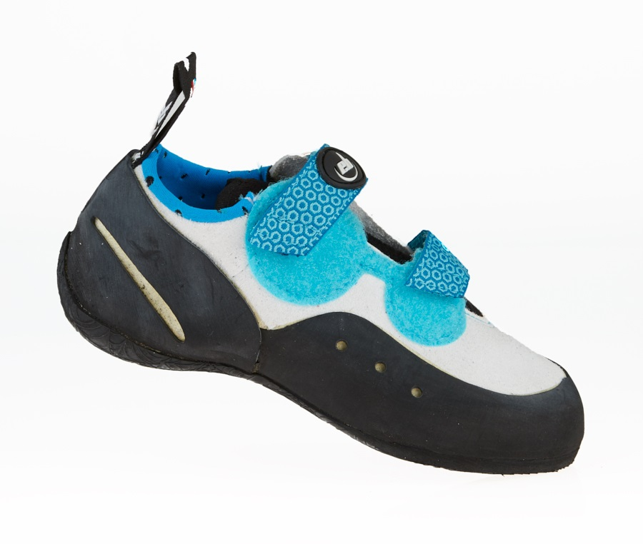 EB Neo Kids Rock Climbing Shoe: UK 2 | EU 34 Kids, Blue & White
