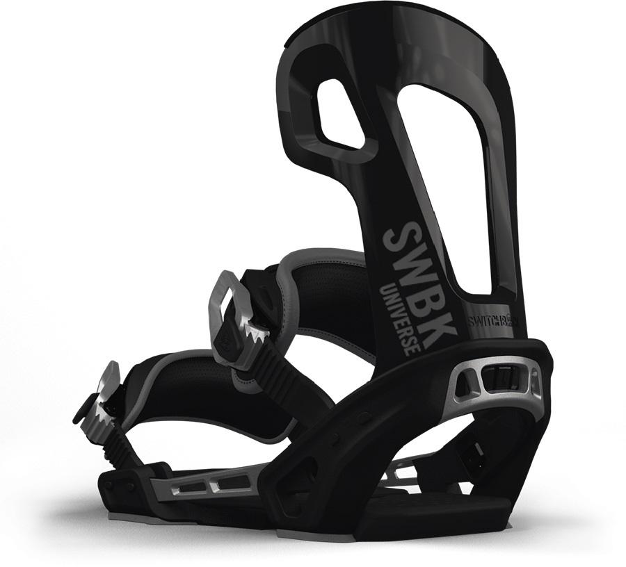 Switchback Universe Snowboard Binding, XS-M Black 2019
