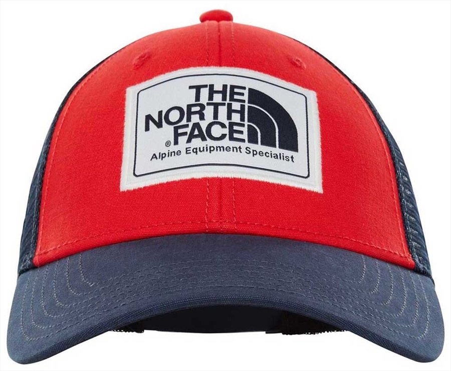 164860efe The North Face Mudder Trucker Hat Mesh Cap One Size TNF Red/Urban Navy