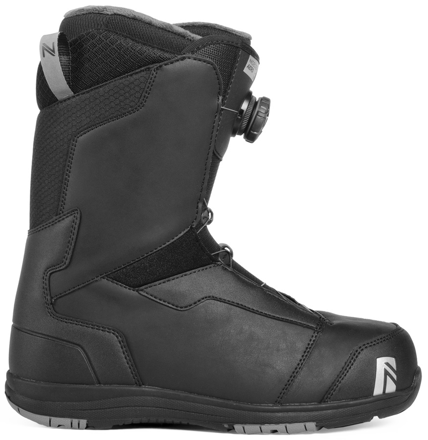 Nidecker Aero BOA Coiler Snowboard Boots, UK 7.5 Black 2019