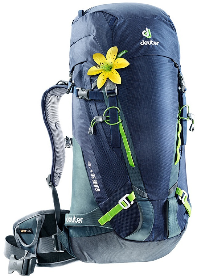 Deuter Guide 30+ SL Women's Alpine Hiking Backpack 30L+ Navy Granite