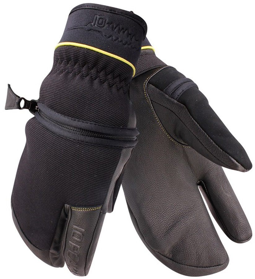 10 Peaks Mount Neptuak Ski/Snowboard Trigger Gloves, S Black