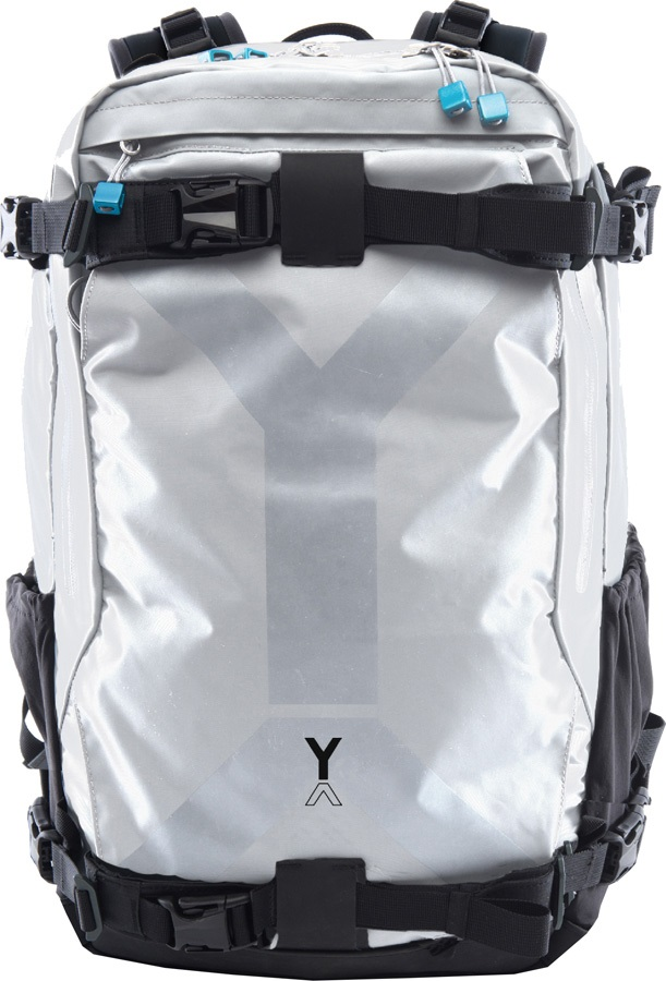 NYA-EVO Fjord 36 Snowboarding Adventure Photography Backpack, White
