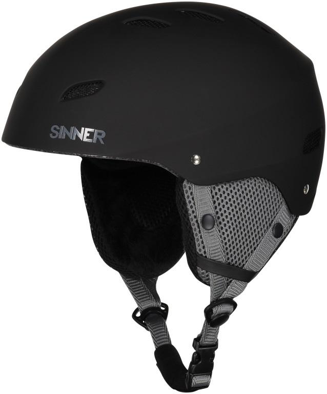 Sinner Bingham Ski/Snowboard Helmet S Matte Black