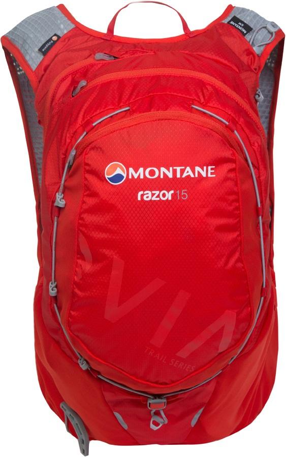Montane VIA Razor 15 Trail Running Vest Backpack, S/M Flag Red