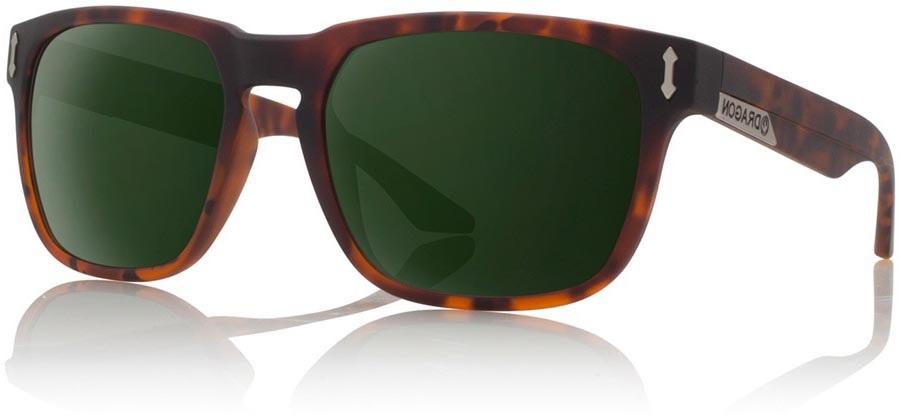 Dragon Monarch G15 Green Sunglasses, Matt Tortoise