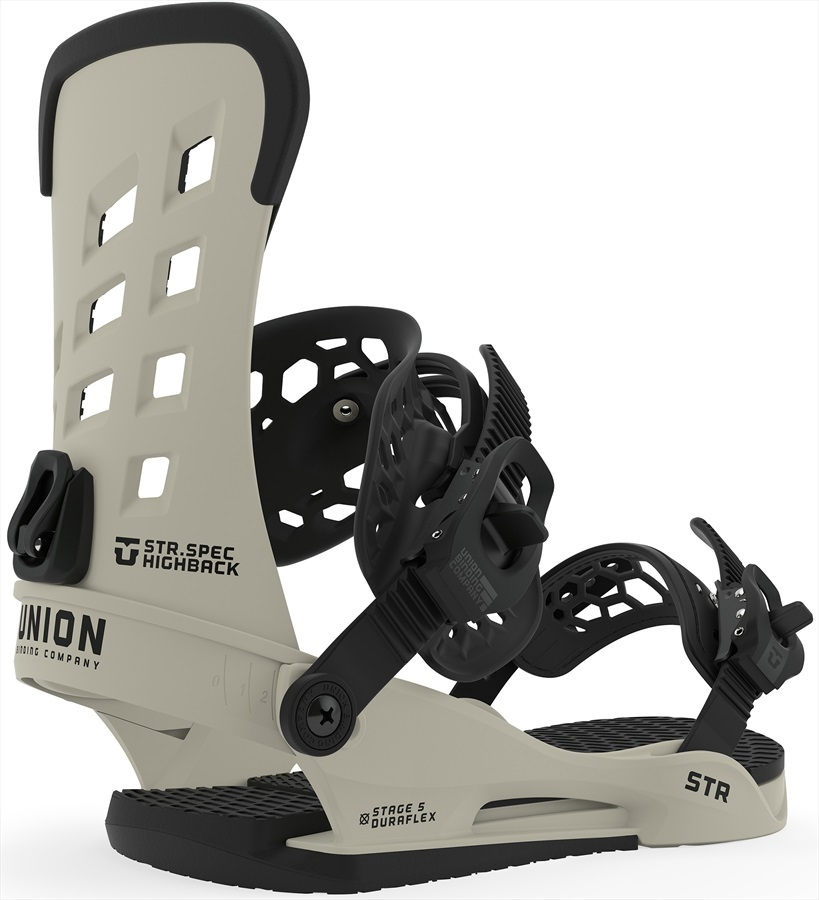 Union STR Snowboard Binding, L Bone 2020