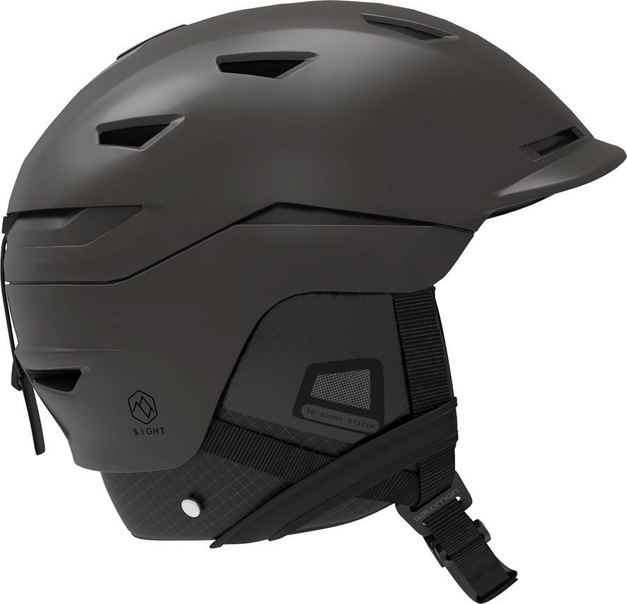 Salomon Sight MIPS Snowboard/Ski Helmet, L All Black