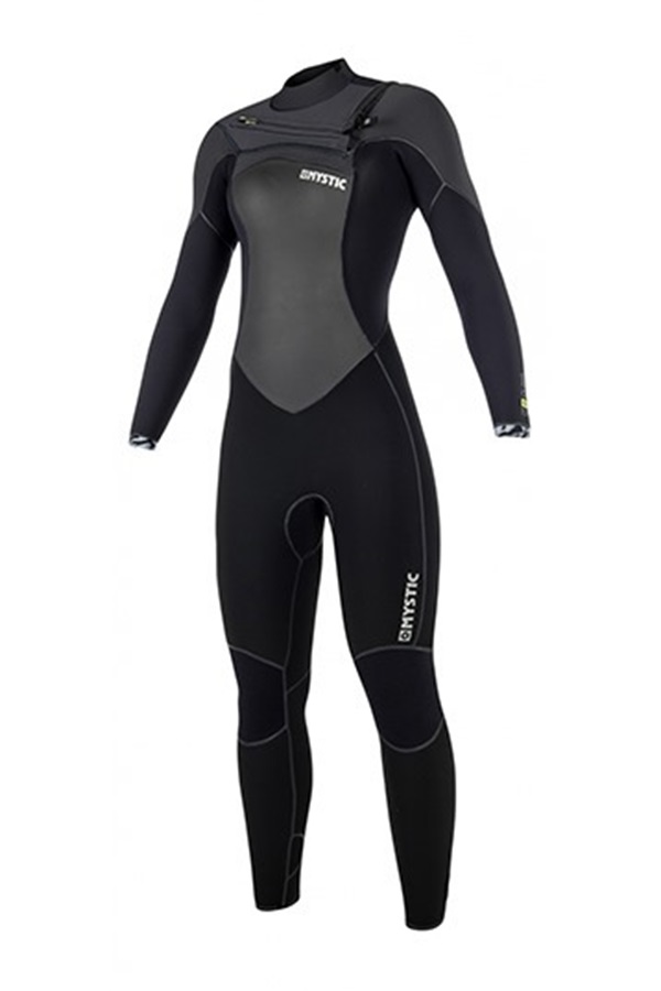 Mystic Gem 5/3mm Ladies Full FZ Wetsuit, Small UK 8 Black 2019