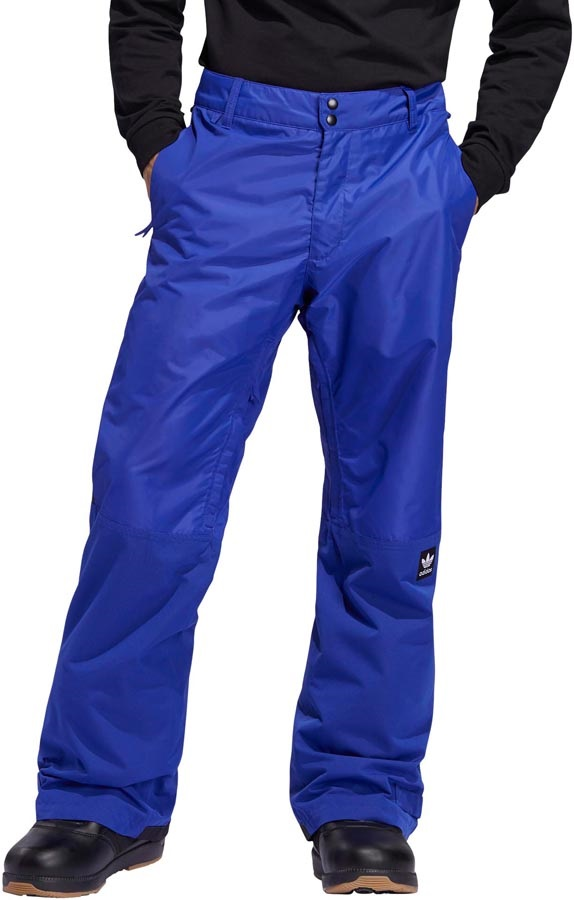 Adidas Riding Ski/Snowboard Pants, L Active Blue / Collegiate Gold