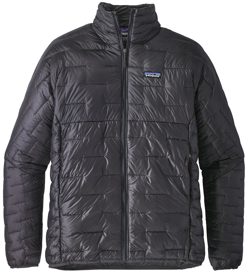 Patagonia Micro Puff Insulated Jacket, XL Forge Grey