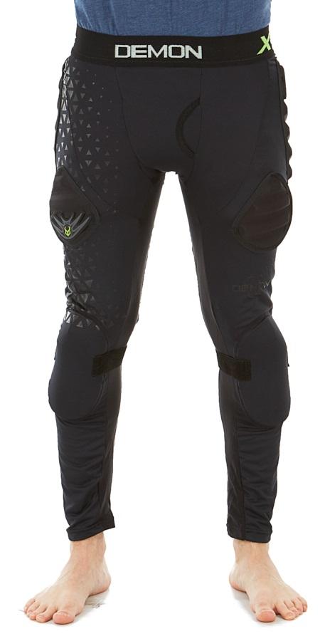 Demon X D30 Flex Force Ski/Snowboard Impact Pants, M Black