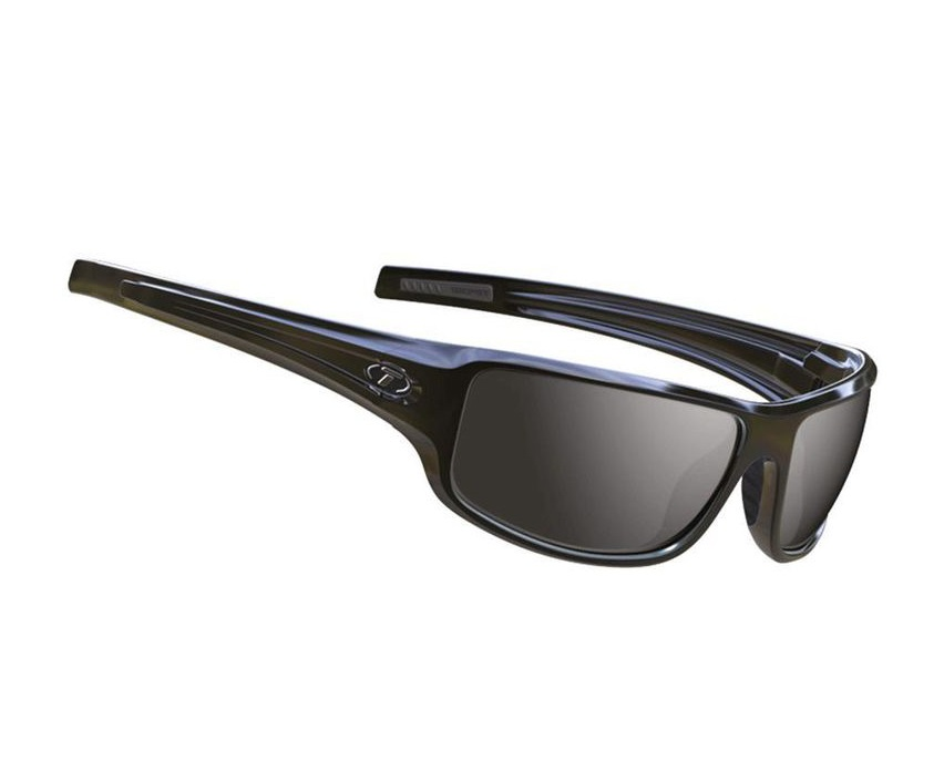 Tifosi Bronx Smoke Sunglasses Gloss Black