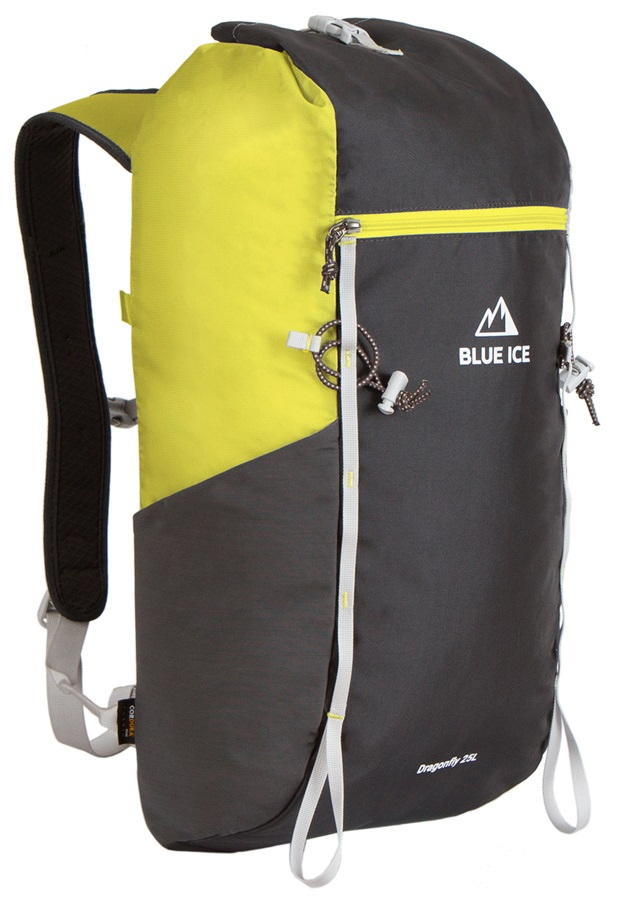 Blue Ice Dragonfly Alpine Climbing Backpack, 25L Yellow/Black