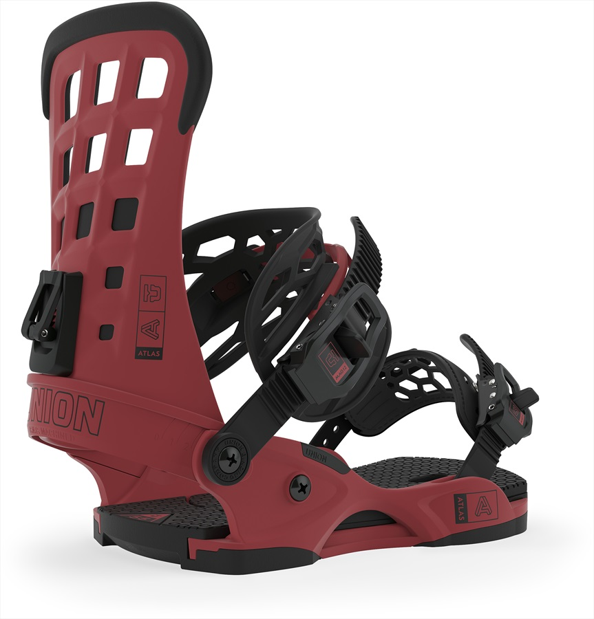 Union Atlas Snowboard Binding, M Brick Red 2020