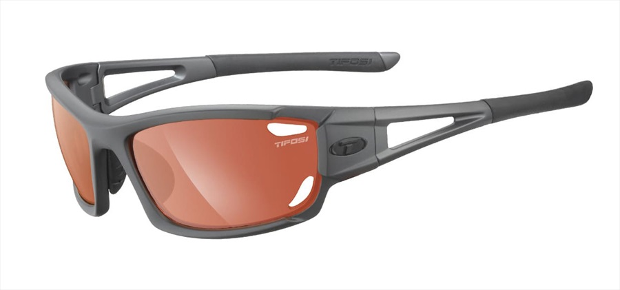 Tifosi Dolomite 2.0 Fototec Highspeed Red Sunglasses Gunmetal