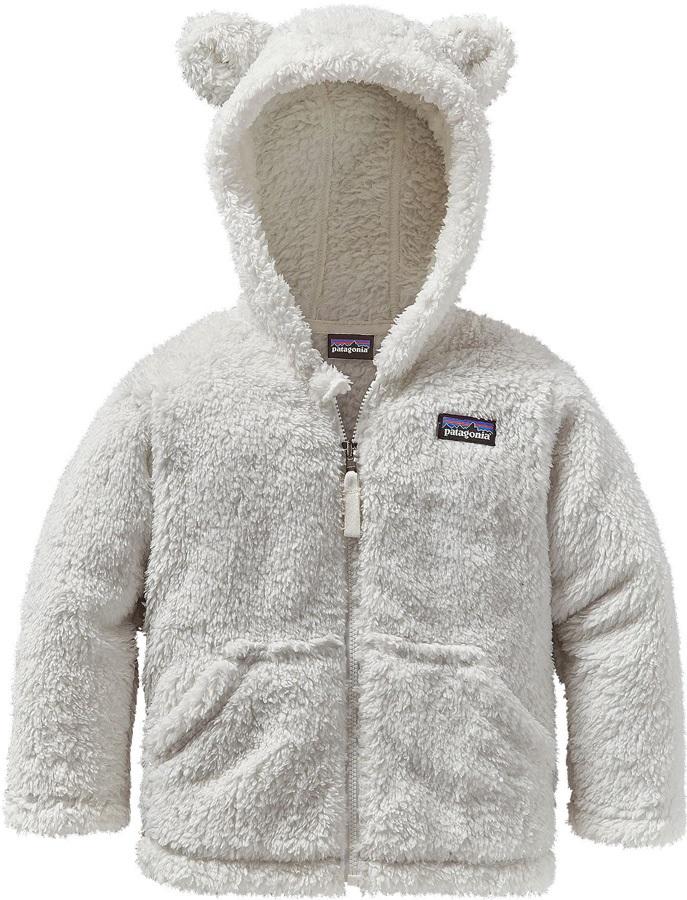 Patagonia Baby Furry Friends Fleece Hoody, 3-4 Years Birch White