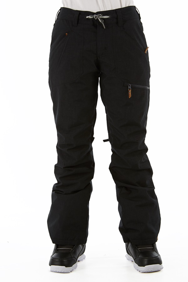 Roxy Nadia Women's Snowboard/Ski Pants, M True Black