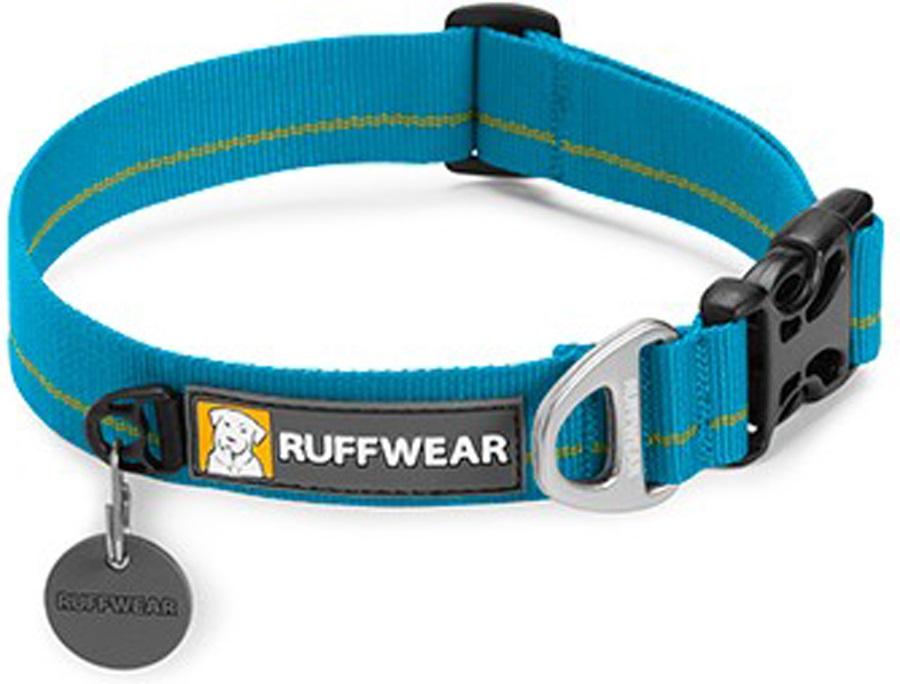 Ruffwear Hoopie Webbing Dog Collar S Baja Blue