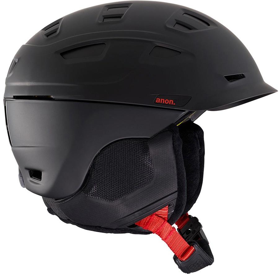 Anon Prime MIPS Ski/Snowboard Helmet, XL Black Pop