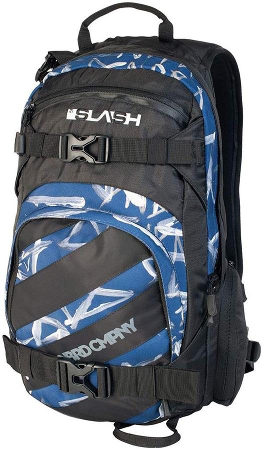 Nitro Slash Ski Snowboard Backpack 27L Smear Midnight