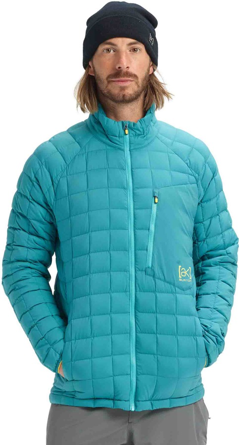 Burton [ak] BK Lite Insulator Technical Jacket, M Green-Blue Slate