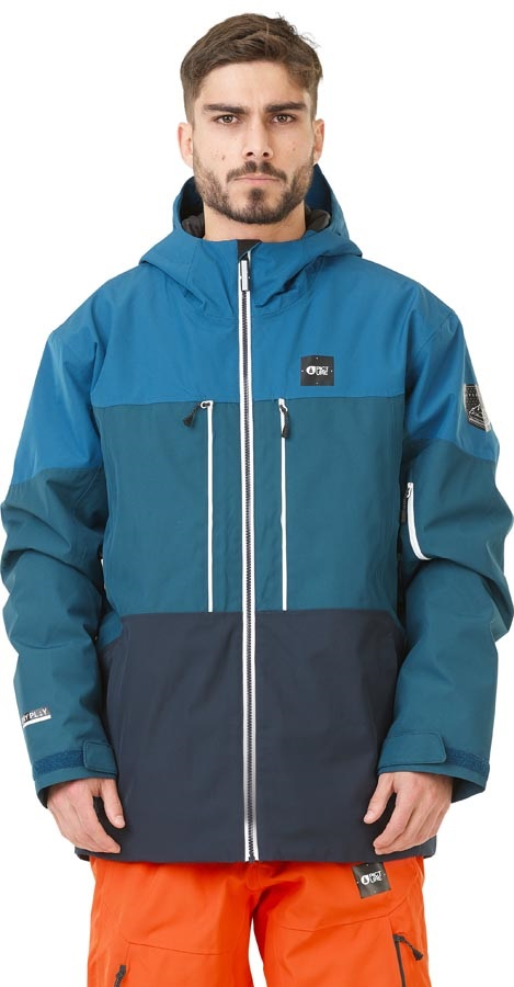 Picture Object Insulated Snowboard/Ski Jacket, S Blue