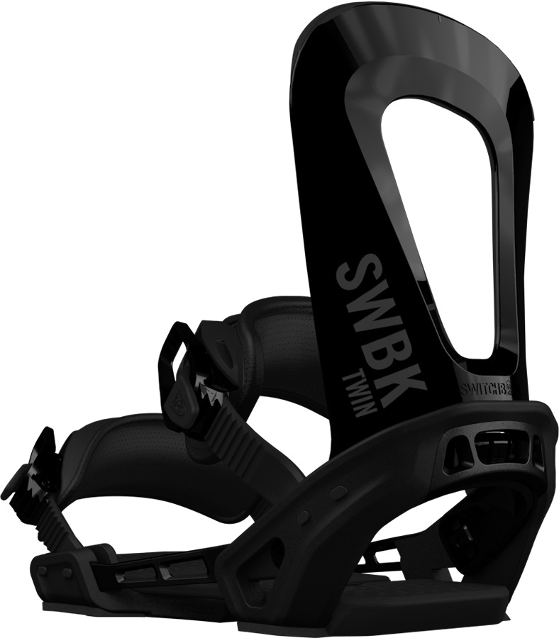 Switchback Twin Snowboard Binding, XS-M Black 2019