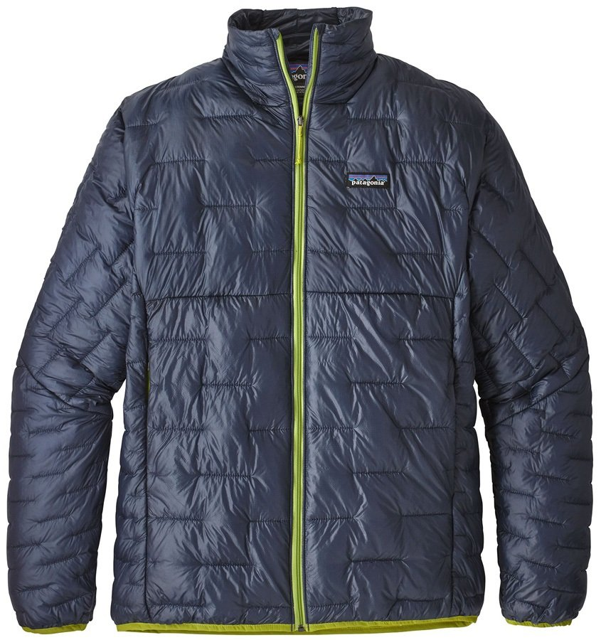 Patagonia Micro Puff Insulated Jacket, S Dolomite Blue