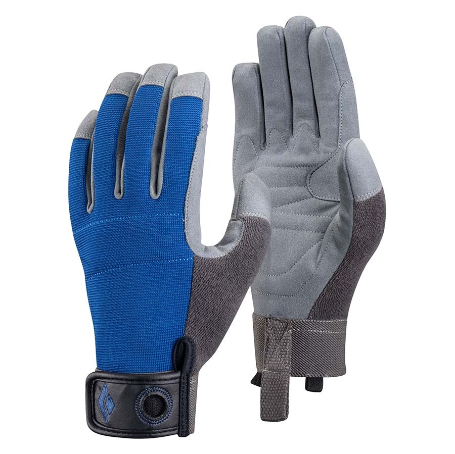 Black Diamond Adult Unisex Crag Rock Climbing Glove, XL Cobalt