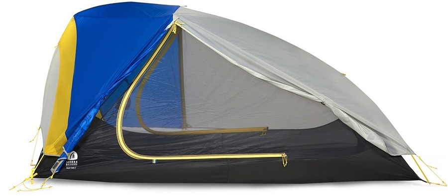 Sierra Designs Sweet Suite 2 Lightweight Backpacking Tent, 2 Man Blue