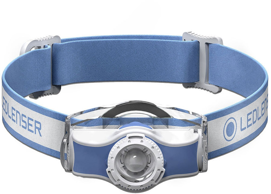 Led Lenser MH5 Headlamp IPX54 Rechargeable Led Head Torch, Blue