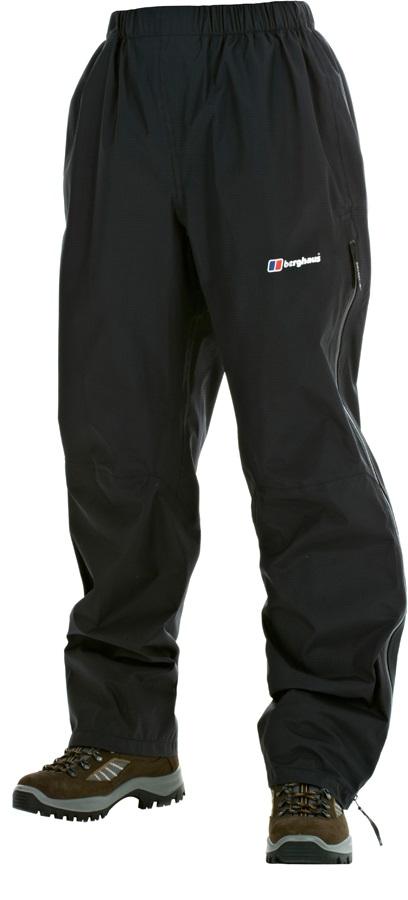 Berghaus Vapour Gore-Tex Women's Waterproof Overtrousers UK14 Black 31