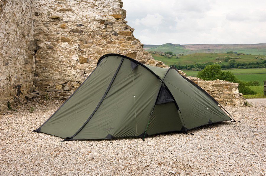 Snugpak Scorpion 3 Tent Expedition Camping Shelter, 3 Man Olive