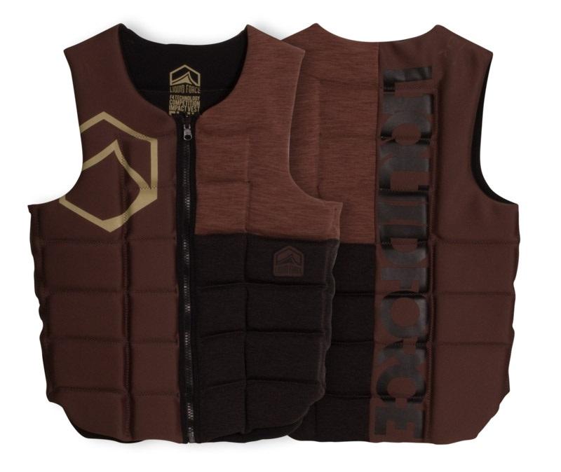 Liquid Force Flex Wakeboard Impact Vest, S Tan