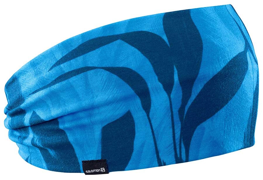 Salomon Womens Light Headband, O/S Blithe/Poseidon