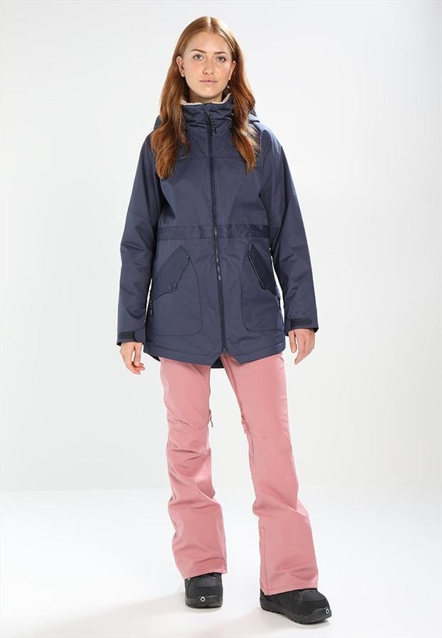 Burton Prowess Women S Snowboard Ski Jacket Xs Mood Indigo