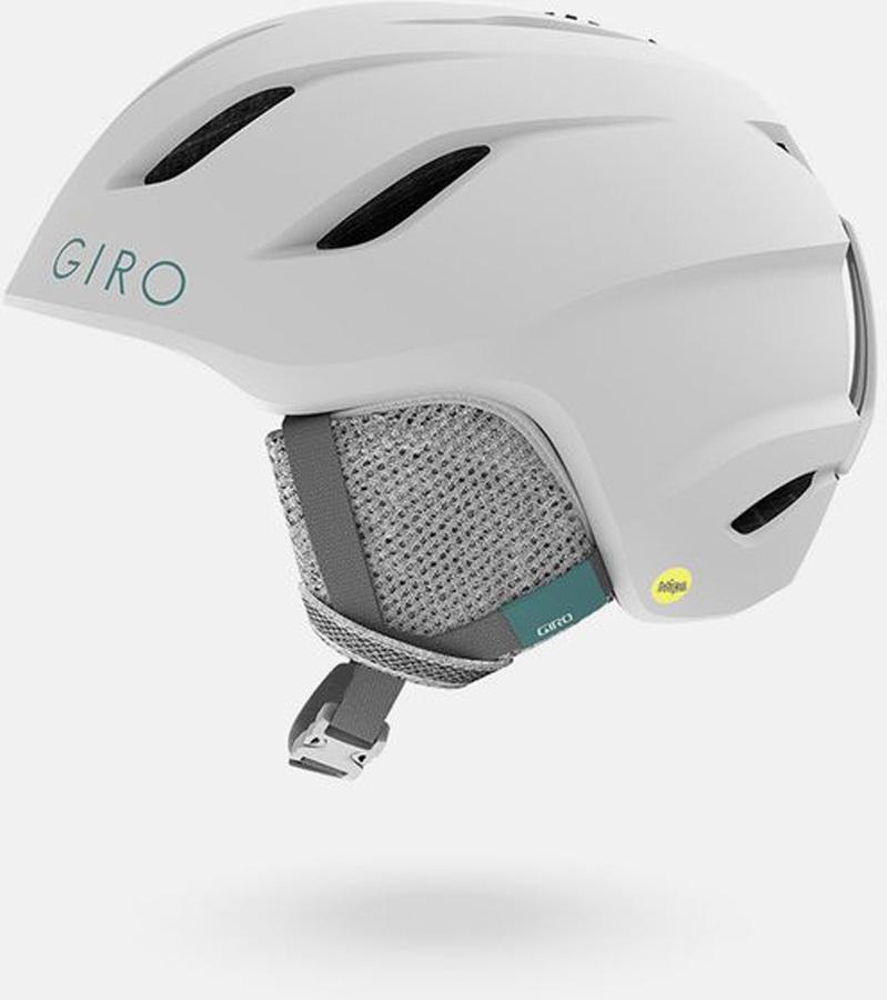 Giro Nine Jr. MIPS Kids Snowboard/Ski Helmet, M Matte White