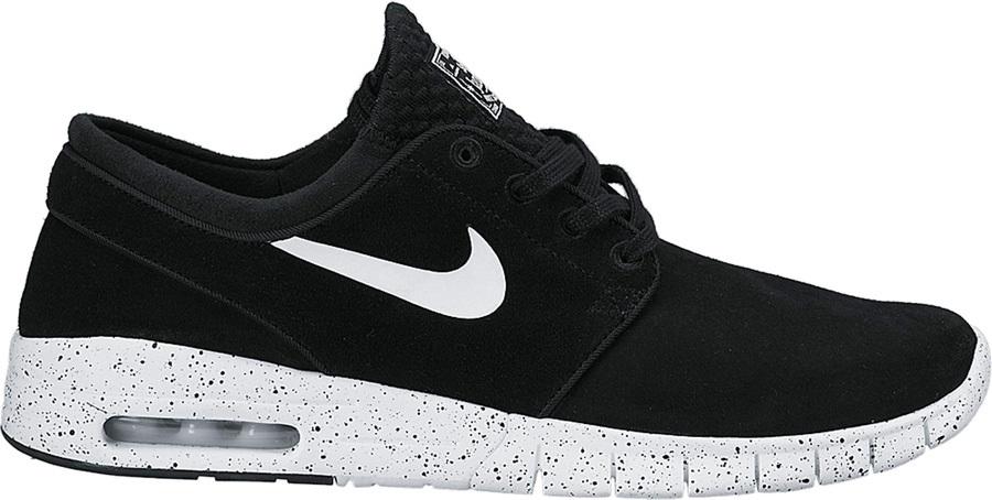 Tienda pulcro diseño atemporal Nike SB Stefan Janoski Max L Men's Skate Shoes UK 7.5 Black/White
