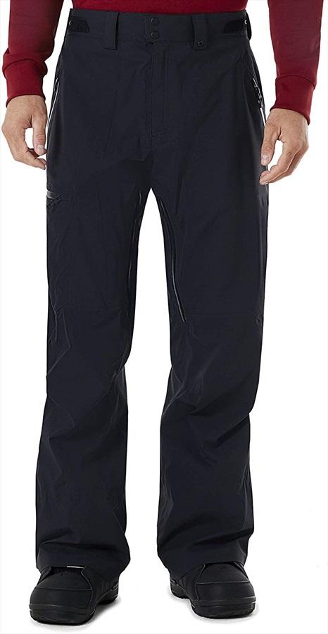 Oakley Snow Shell 3L Snowboard/Ski Pants, S Blackout