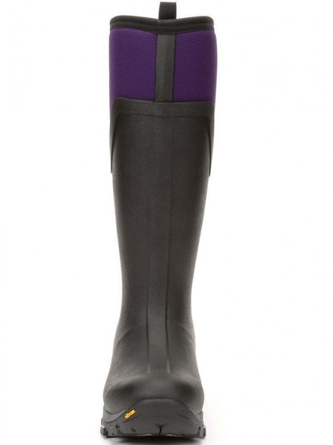 fb408e1146bf9 Muck Boot Arctic Ice Tall Women's Wellies, UK 8 Black/Purple. Zoom