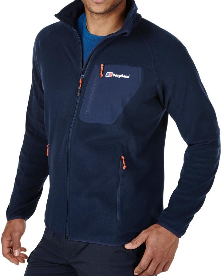 berghaus deception Mens Navy Blue Full Zip fleece
