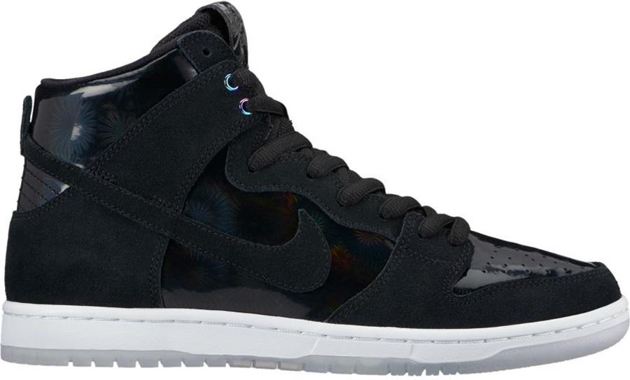 buy online 6f288 4e631 Nike SB Zoom Dunk High Pro Skate Shoes UK 10 Black/White/Clear