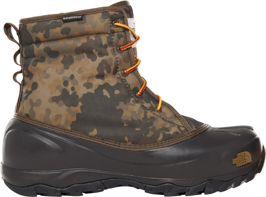 The North Face Tsumoru Men's Snow Boots, UK 6 Camo/Black