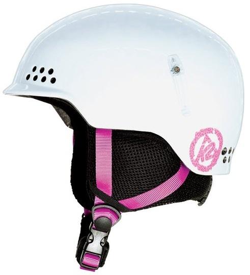 K2 Illusion Kids Ski/Snowboard Helmet, S White