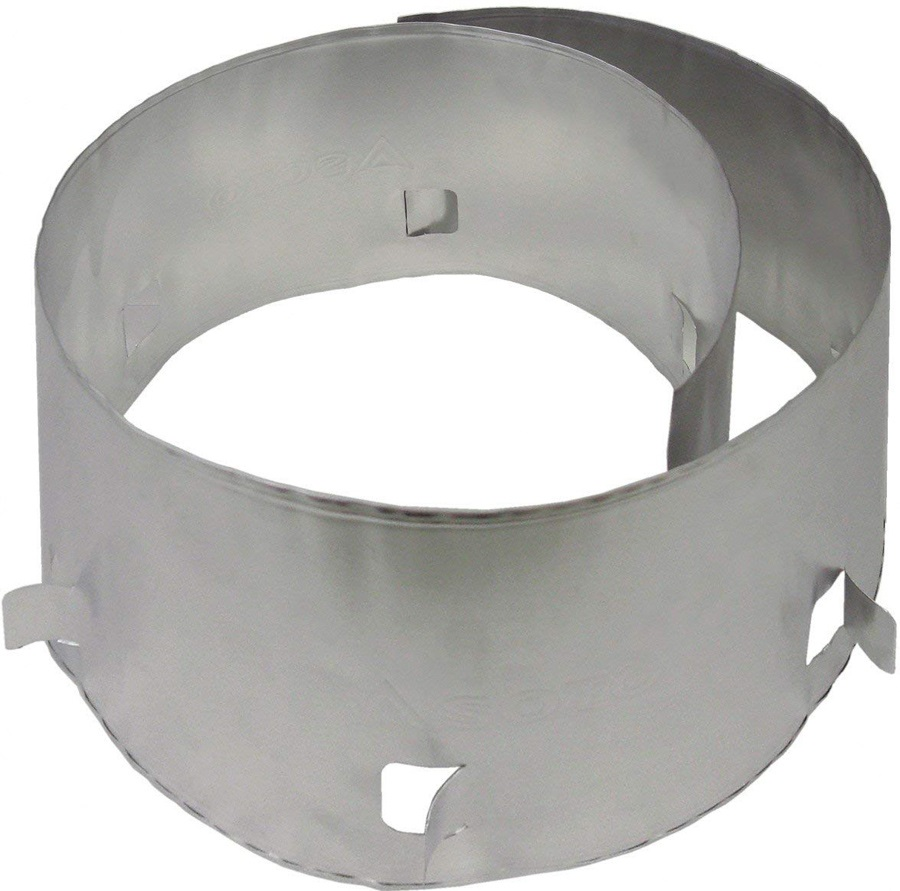 Soto Muka Pro Wind Screen Foil Camp Stove Wind Shield, Silver