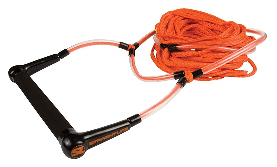 Straight Line ELEVATE Handle Rope Water Ski Combo, 3 Section Orange