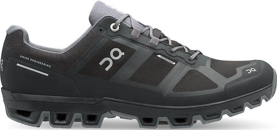 On Running Cloudventure Waterproof W Black Dark Damen Schuhe