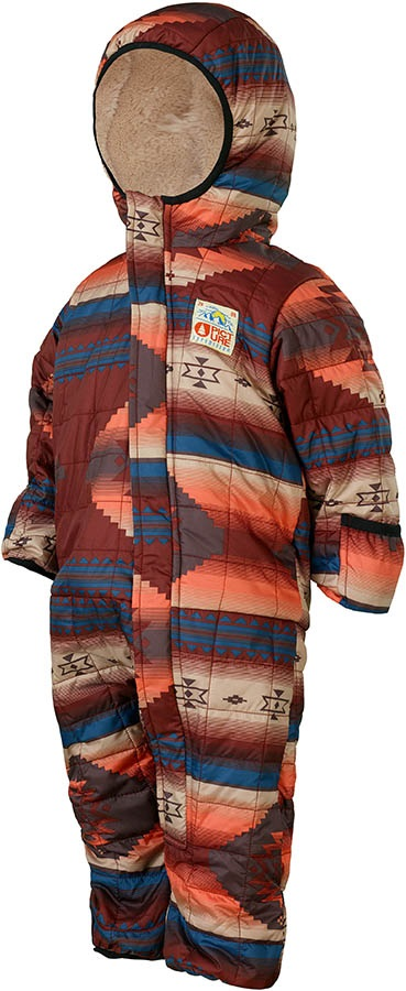 Picture My First BBsuit Kid's One Piece, 12-18 Months Navajo Geometric