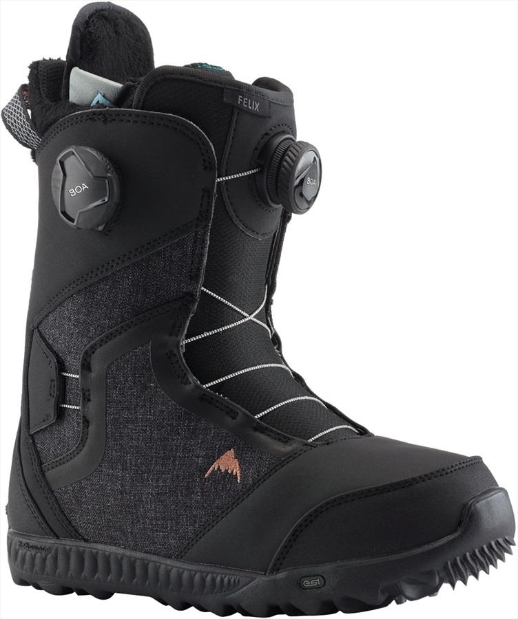 Burton Felix Boa Women's Snowboard Boots, UK 6.5 Black 2020